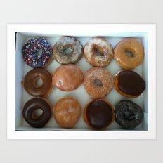 Doughnuts Art Print