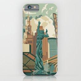 Cleveland City Scape iPhone Case
