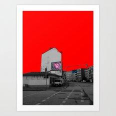 Empty (scene13) Art Print
