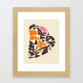 DISTORTION Framed Art Print
