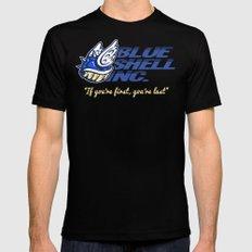 Mario Kart: Blue Shell Inc (no distressing) Mens Fitted Tee MEDIUM Black