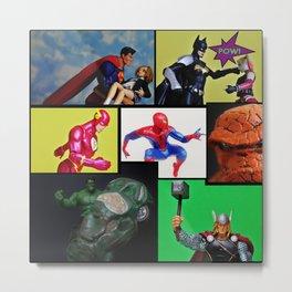 Hero Panel Metal Print