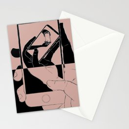 iFail Rose Gold + Jet Black inverse (Picture This!) Stationery Cards