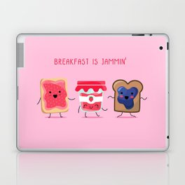 Breakfast Is Jammin' Laptop & iPad Skin