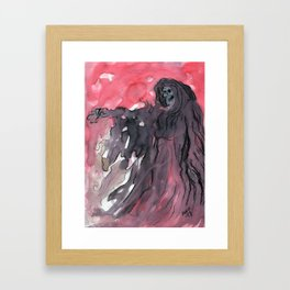 Grimm Framed Art Print