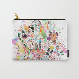 Pugs in wonderland Carry-All Pouch