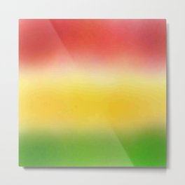flag of bolivia 6 - with cloudy colors Metal Print