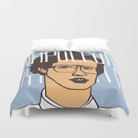 napoleon Duvet Covers featuring Napoleon Nynamite by SleptAwoke