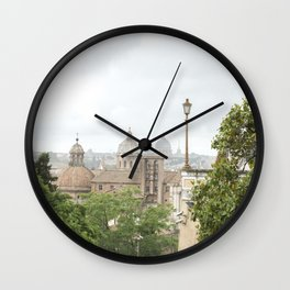 Roman Domes Wall Clock