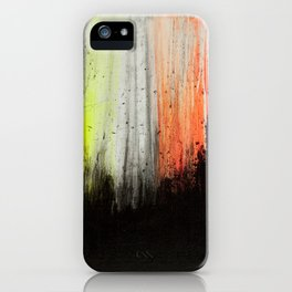 Trees in Neon iPhone Case
