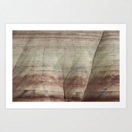Hills as Canvas, No. 2 Art Print
