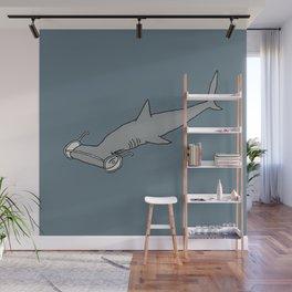 4-Eyed Hammerhead Shark Week Wall Mural
