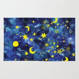 Stars That Can Laugh Rug
