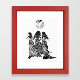 The Power of Three Framed Art Print