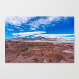 Piedras Rojas (Red Rocks), San Pedro de Atacama Desert, Chile Canvas Print