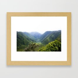 Paradise On View Framed Art Print