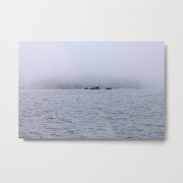 Foggy Island Metal Print