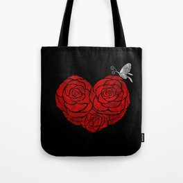 A Butterfly to be, a Rose to blossom... Tote Bag