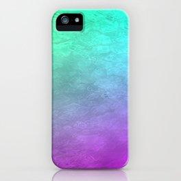 Aqua Sunset iPhone Case