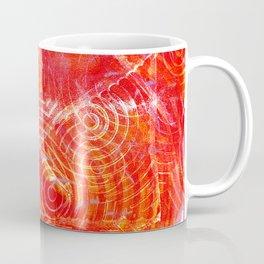 Firery Swirling Coffee Mug