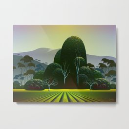 Napa Vineyard Metal Print