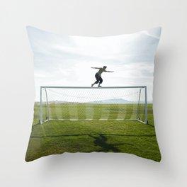 """""""Goal"""" Throw Pillow"""