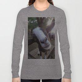Goat Barnyard Farm Animal Long Sleeve T-shirt