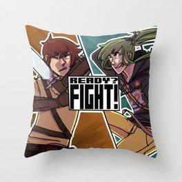 READY? Throw Pillow