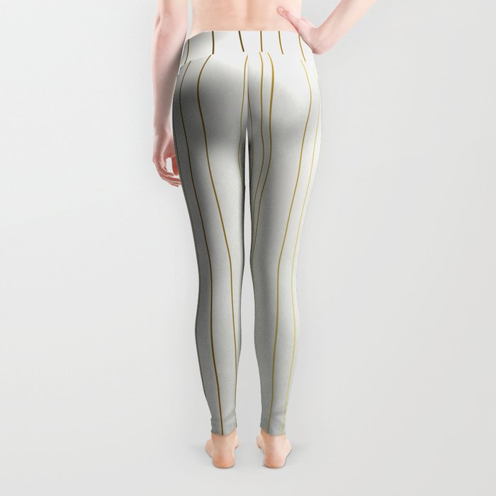 Golden Stripe Leggings