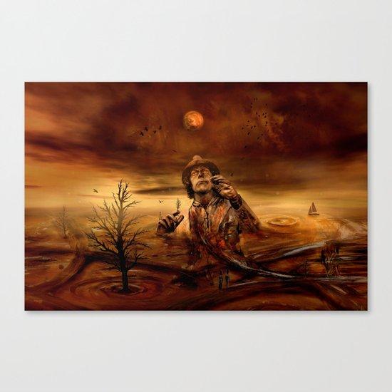 Die neue Entdeckung Canvas Print