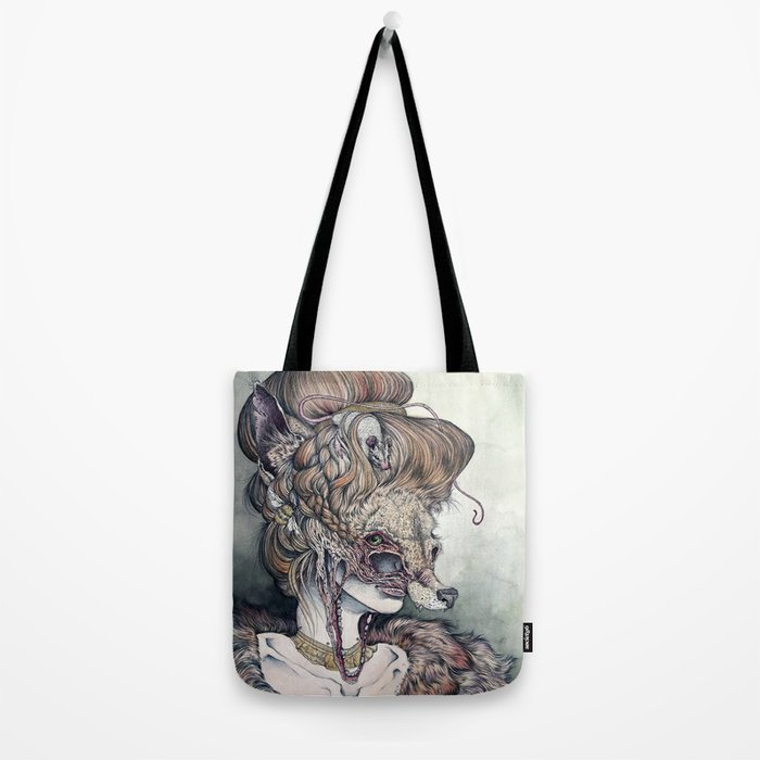 Vulpes Masquerade, now as a print! Tote Bag