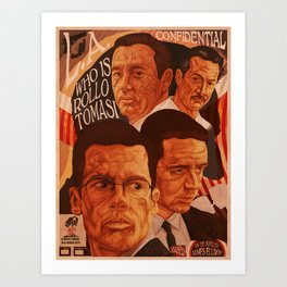 L.A Confidential Art Print