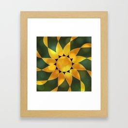 Autumn Sun Two Framed Art Print
