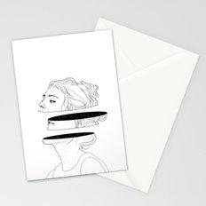 Celestial slices Stationery Cards