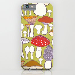 All my mushrooms iPhone Case