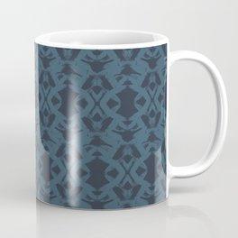 Brushstroke Trellis Coffee Mug