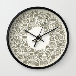 Bird business Wall Clock