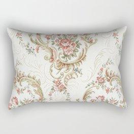 Antique fabrique wall paper Rectangular Pillow