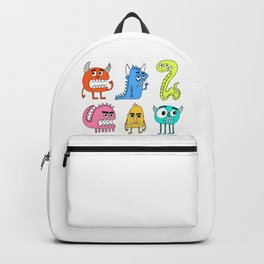 Animated Monsters Backpack