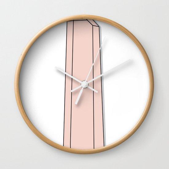 Rose Quartz Wall Clock