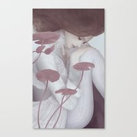 lily Canvas Prints featuring Lily by Jumei