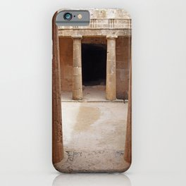 Tomb Of the Kings - Cyprus iPhone Case