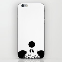 cyclops skull iPhone Skin