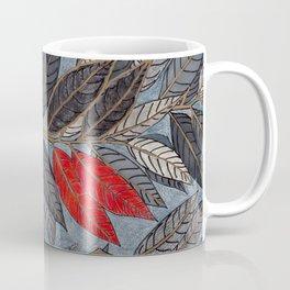 Feuilles Rouges II Coffee Mug