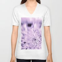 romantic V-neck T-shirts featuring Romantic by Enri-Art