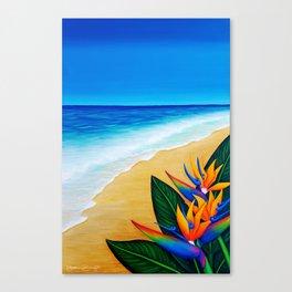 Beach Stroll Canvas Print