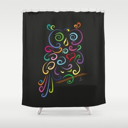The owl - The heart of Esperanza Shower Curtain