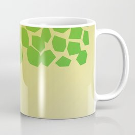 Exotic design blocks on Pink Coffee Mug