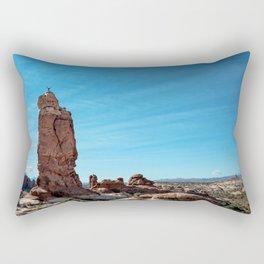 Arches Handstand Rectangular Pillow
