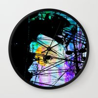 lynch Wall Clocks featuring Brandon Lynch by Brandon Lynch